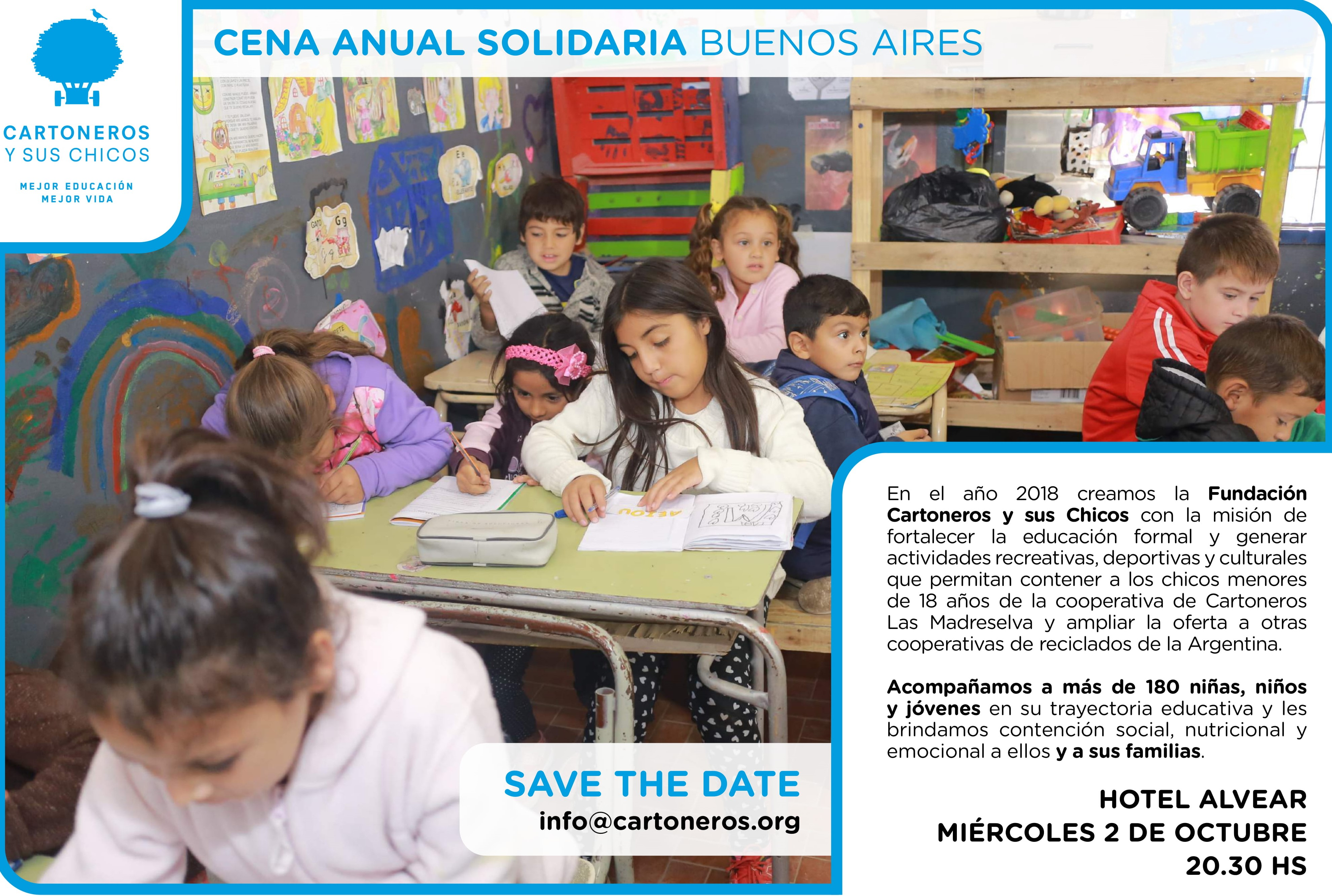 Solidarity Dinner Soon to be Held in Argentina!