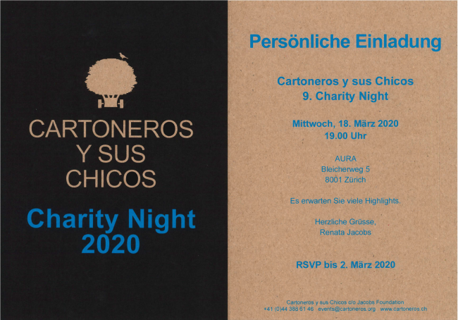 Charity Night Zurich 2020